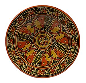 Amazon Com Ceramic Plates Moroccan Safi Serving Plate