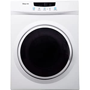 Magic Chef MCPMCSDRY35W MCSDRY35W 3.5 cu. ft. Laundry Dryer, White