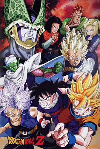 Maxi Cell - Dragon Ball Z Cell Saga DBZ Maxi Poster 61x91.5cm