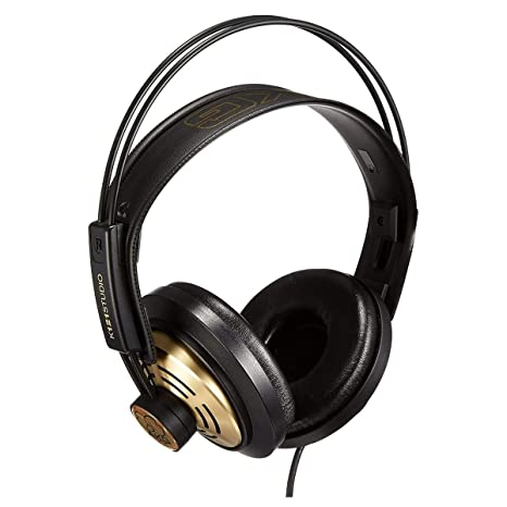 AKG K121 Channel Studio Headphones On-Ear Headphones at amazon