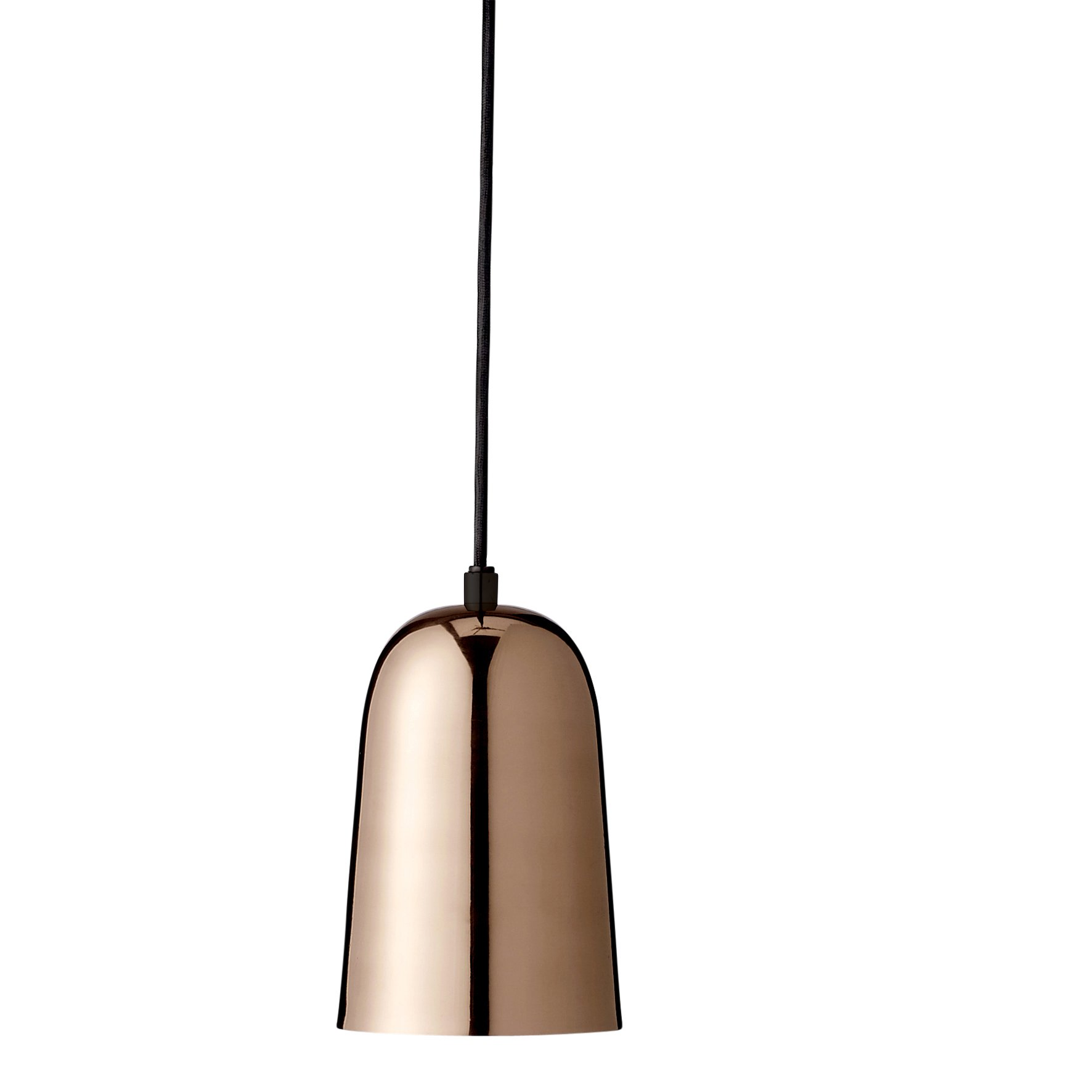 Bloomingville A489072 Brass Pendant Lamp with Copper Electroplated Finish