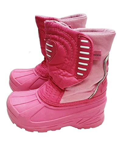 a3c21abdf Champion Pink Thermolite Winter Snow Duck Boots for Youth Girls Size 2