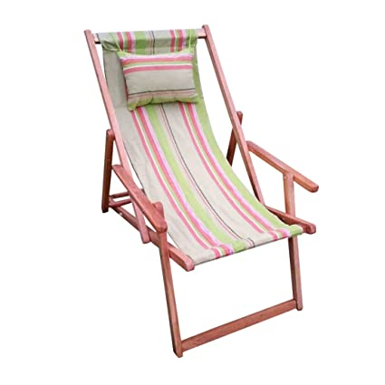 wooden chair. Hangit Easy Deck Wooden Chair Furniture For Garden Living Room - Garden-stripes