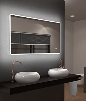 Gut gemocht Talos LED Badspiegel, Sun 120 x 70 cm - Lichtumrahmung -Lichtfarbe YM45