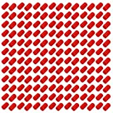 uxcell 200pcs 10mm Dia Red Rubber Thread Round Cabinet Chair Leg Insert Cover Protector