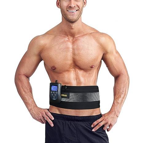 1ab6357687 Amazon.com   DOMAS Ab Belt Abs Stimulator Electronic Abdominal ...