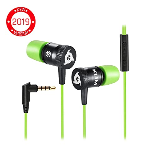 2f0175db13b ⭐️KLIM Fusion Earbuds with Microphone - Long-Lasting Wired Earphones + 5-Year  Warranty - in Ear Headphones - Gaming Ear Buds with Mic and Volume - Noise  ...
