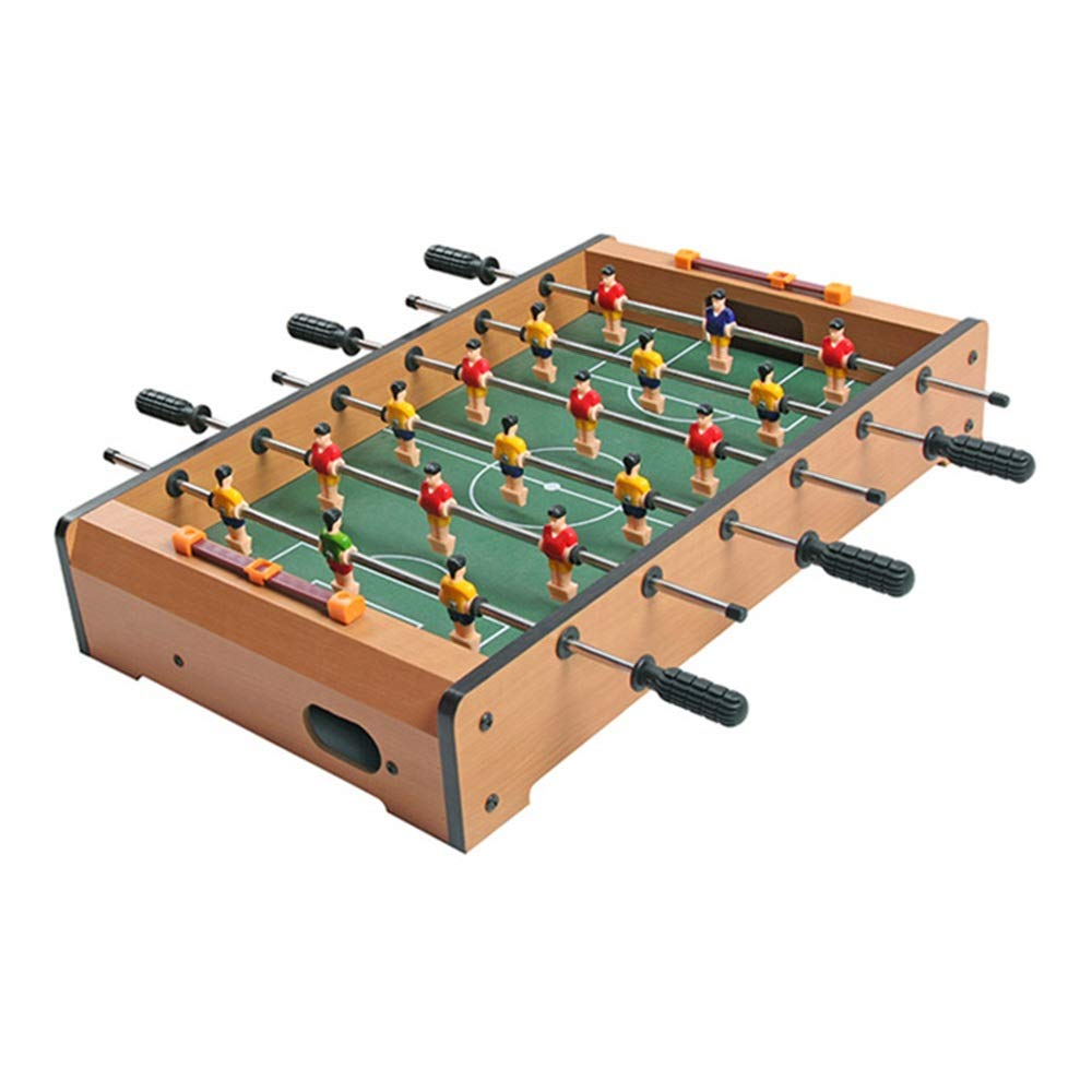 Mini Tabletop Billiard Game Accessories Soccer Tabletops Competition Games Sports Games Foosball Table (Color : Color, Size : 48x28x8.2cm) by Forgiven