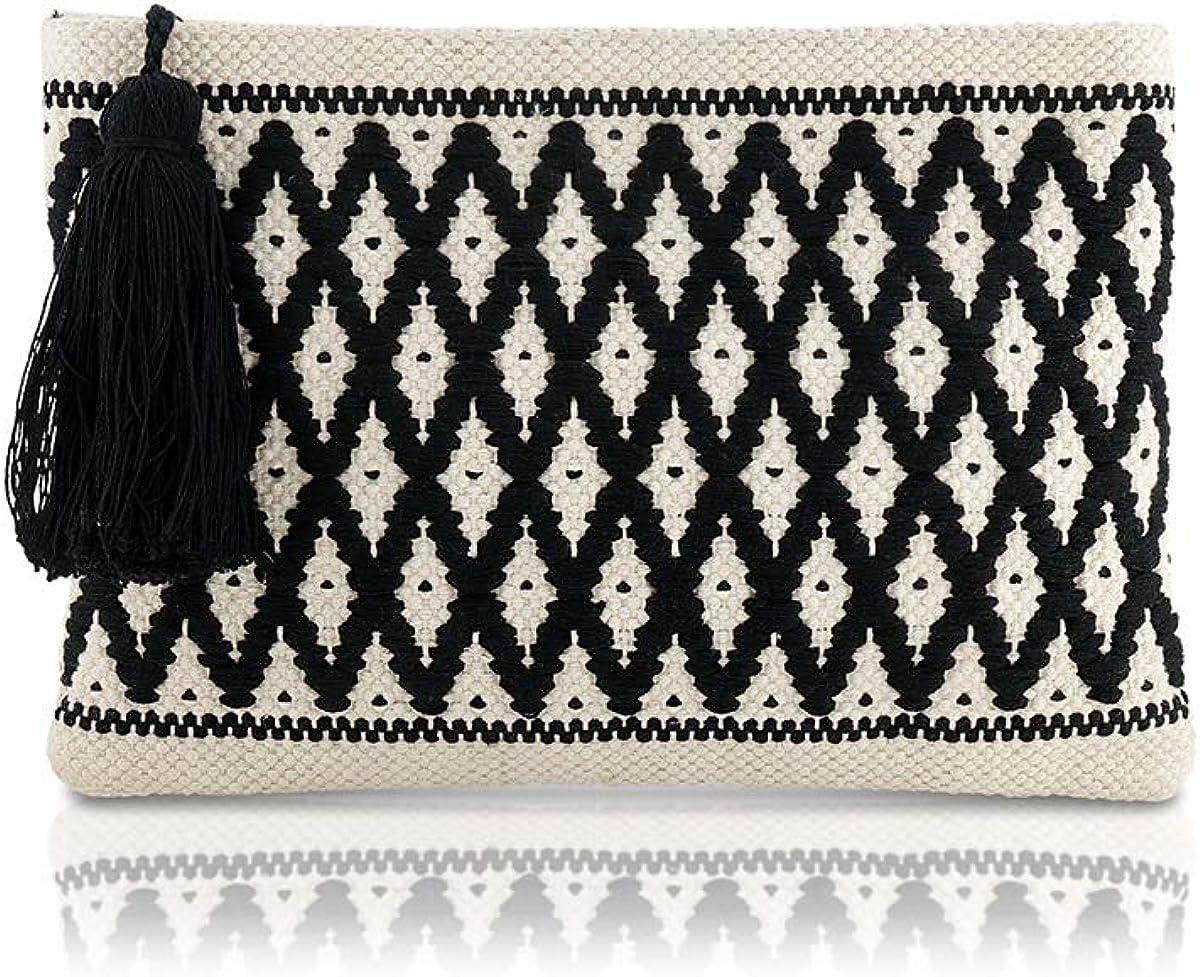 Diamond Woven Handbag