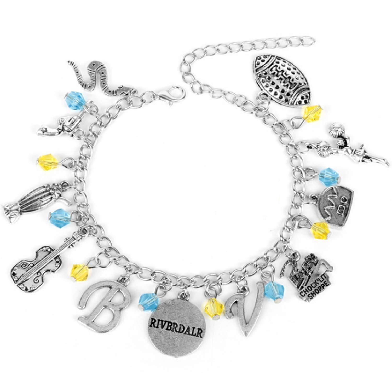 Bracelet Theme Multi Charms Lobster Clasp Bracelet