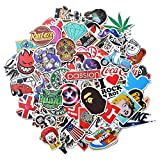 Xpassion Stickers [100 PCS] Waterproof Vinyl Stickers, Motorcycle Bicycle Luggage Laptop Decal Graffiti Patches Skateboard Bumper Stickers, No Duplicate Sticker Pack, Not fade in the sun