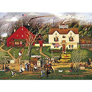 Buffalo Games - Charles Wysocki - Fireside Companions - 1000 Piece Jigsaw Puzzle