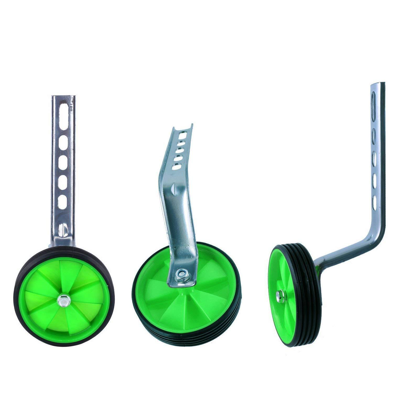 AOAKY Training Wheel,Bike Training Wheels 18 16 20 12 Training Wheels Adjustable Bell Training Wheels Kids Childrens Bicycle Stabiliser