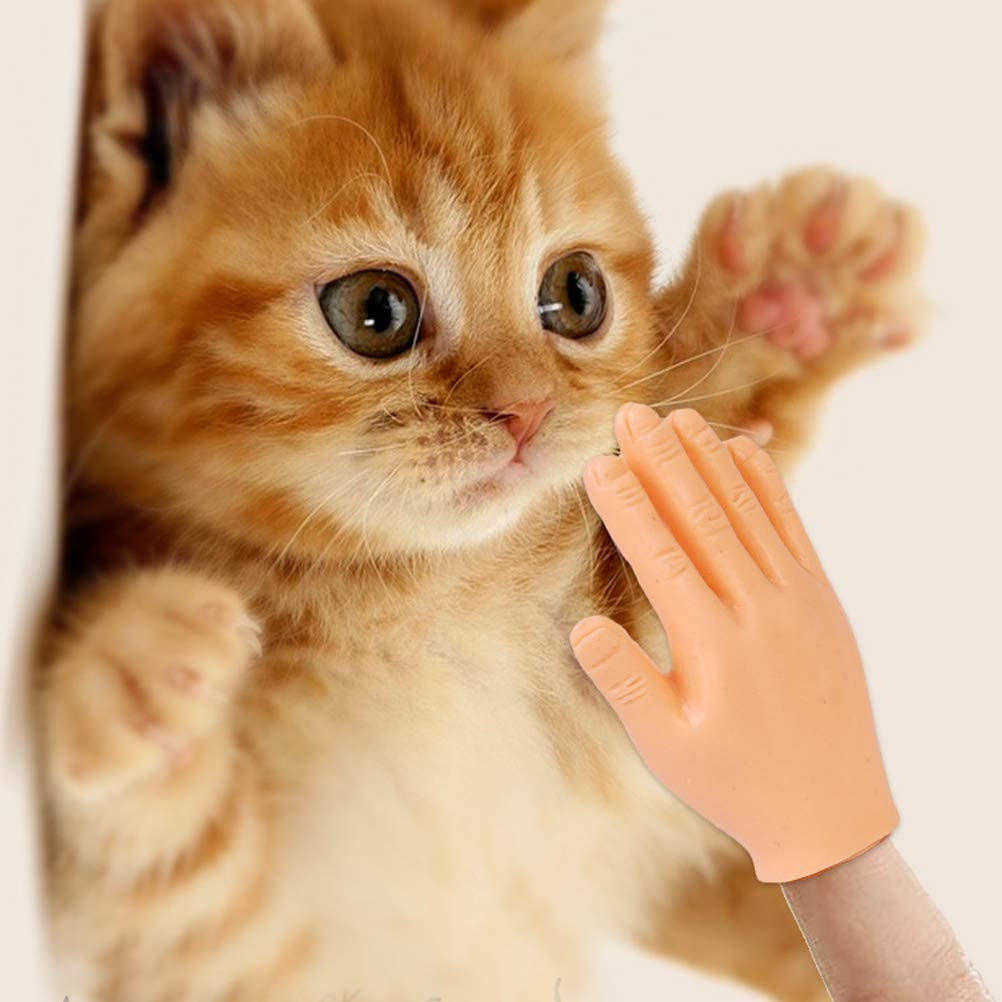 5 piezas Mini Dedos Manos Divertidas Marioneta de Dedos Peque/ñas Manos Novedad Mini Dedos Accesorios para Mano de Halloween Accesorios Mini Prank Hand Gag-Regalos para Adultos