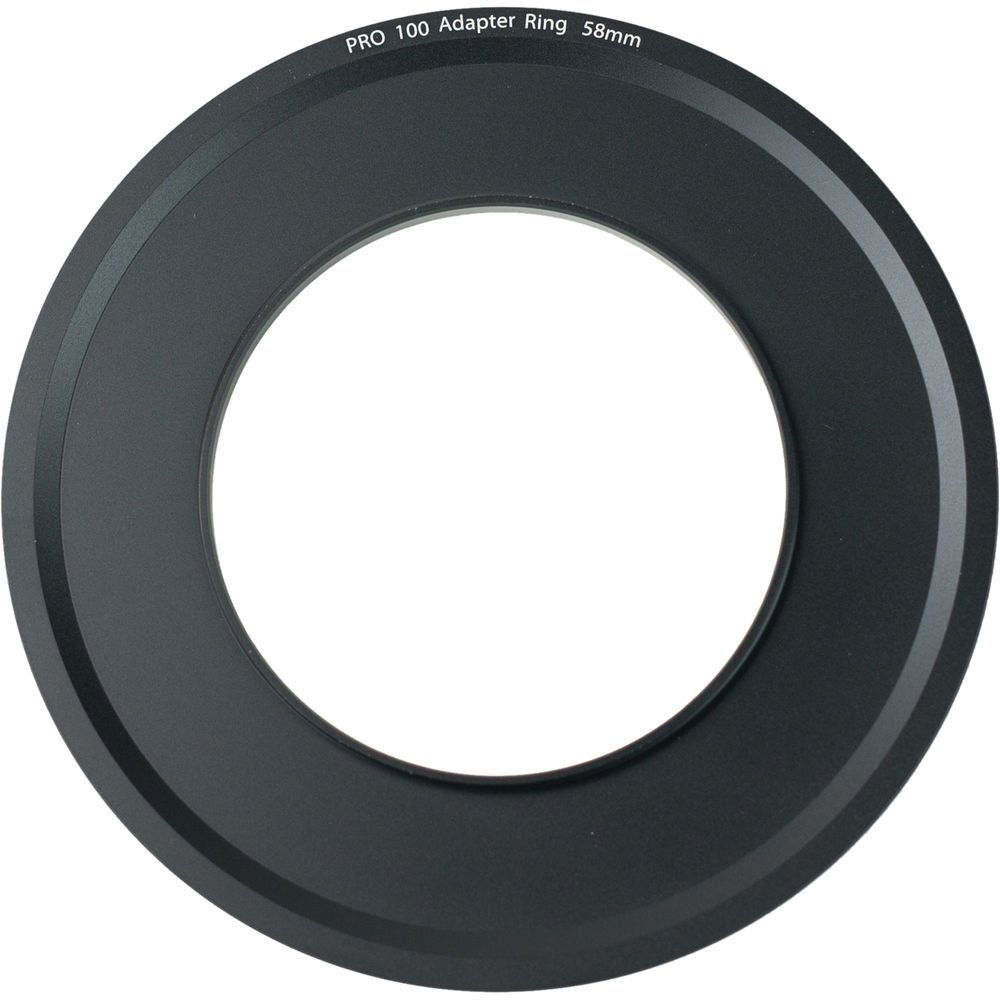 Tiffen Step Ring Camera Lens Square Filter, Black (PRO10058AR) by Tiffen