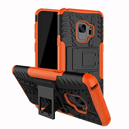 S9 Case Kickstand, Galaxy S9 Stand Case, Moment Dextrad [Built-in Kickstand][Non-Slip Design] Dual Layer Hybrid Full-Body Rugged [Shock Proof] ...