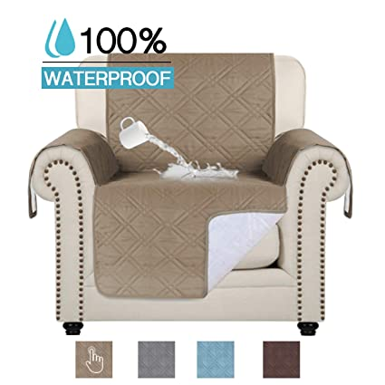 Sensational 100 Waterproof Pet Couch Cover Quilted Sofa Slipcover Perfect For Families With Pets And Kids Water Resistant Micro Fabric Slipcovers Furniture Bralicious Painted Fabric Chair Ideas Braliciousco