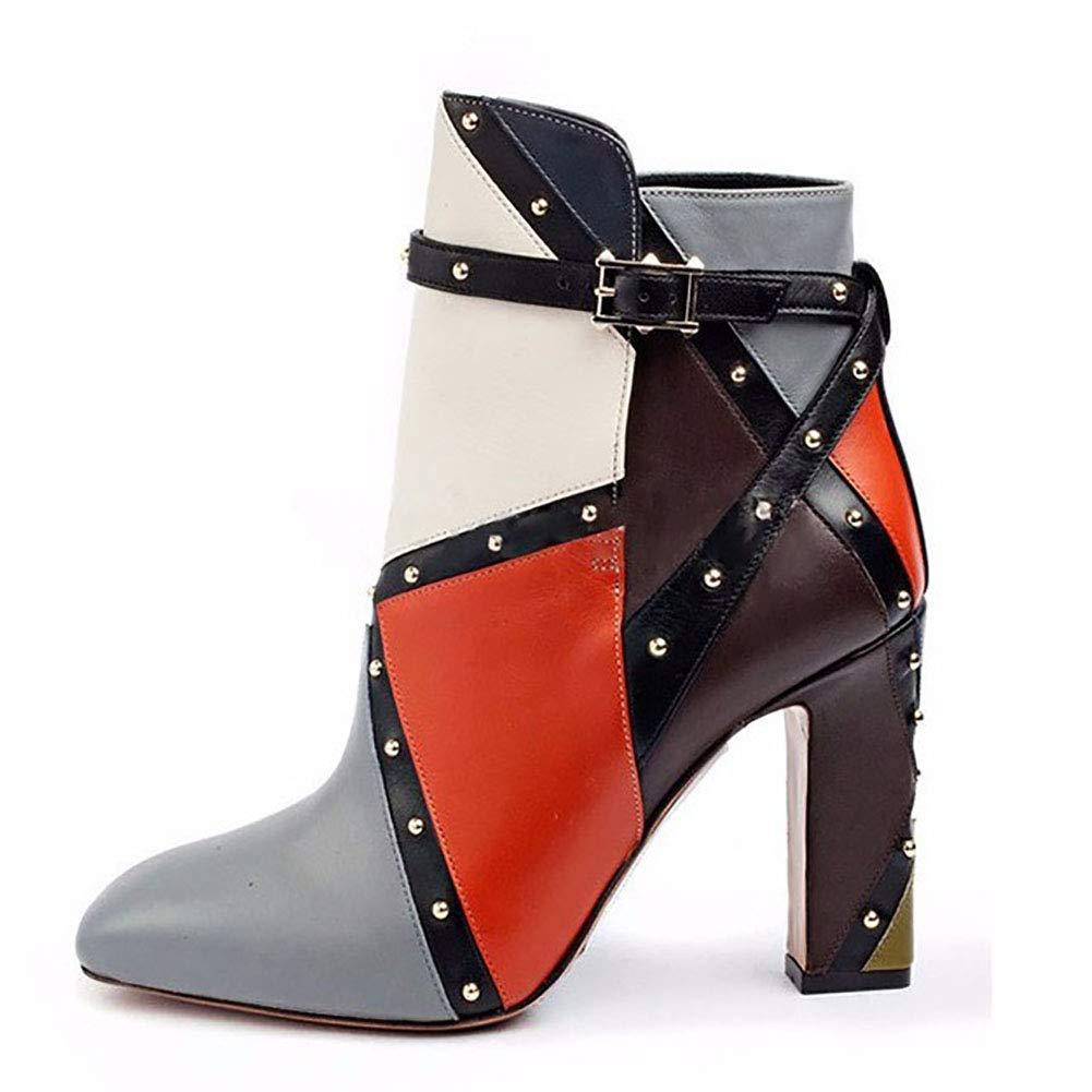 ¥schuhe Frauen Stiefel mit hohen Absätzen Knie Heels wasserdicht über Knie hohe Stiefel