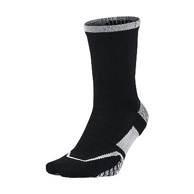 57bb3526e Nike NIKEGRIP Elite Crew Tennis Socks Black/Black/White Crew Cut Socks  Shoes, Socks - Amazon Canada