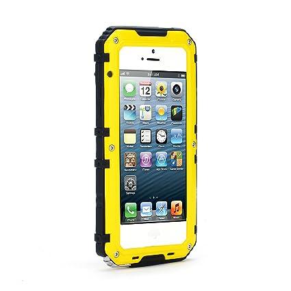 98c3870fbb2 Fusutonus Funda Impermeable iPhone SE 5SE 5 5S, IP68 Waterproof Cover,  Carcasa Resistente al