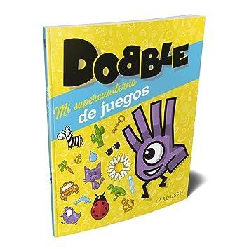 Asmodée-Mi Mi supercuaderno de Juegos Dobble, Color (LRGBDO01ES)
