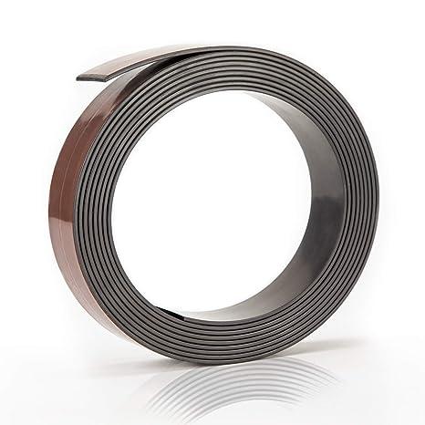 Präsentationsbedarf Einfach 3m Magnet Klebeband Magnetstreifen Zum Zuschneiden Magnetband Selbstklebend