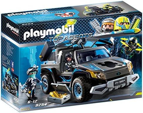 voiture top agent playmobil jouet