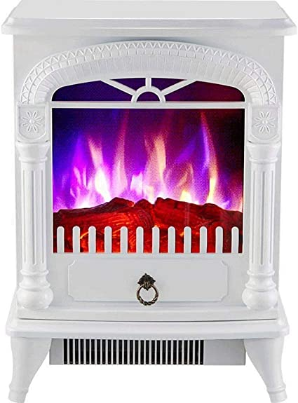 Post Free Standing Electric Fireplace Cute Electric Heater Log Fuel Effect Realistic Flame Space Heater 1500 W Heating Supplies Amazon Ca Sports Outdoors