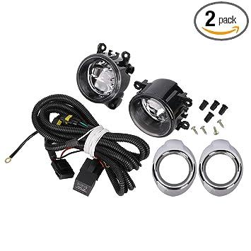 Amazon.com: Luces antiniebla de montaje de 50 W brillantes ...