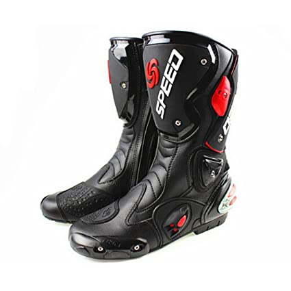 Logas Mens Motorcycle Boots Dirt Bike Boots Size 9 10 11 Leather