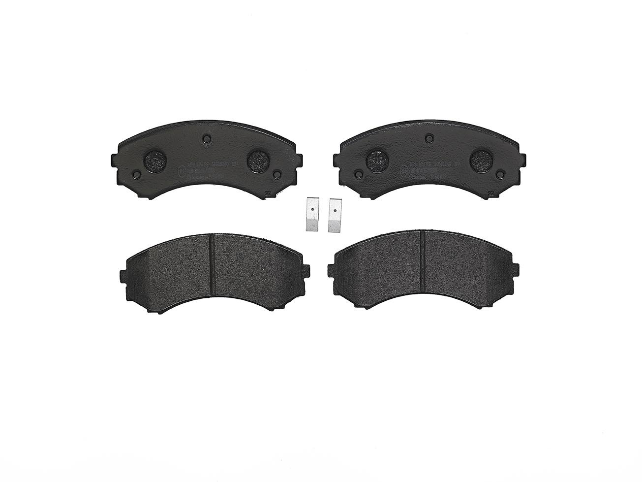 Brembo P54029 Front Disc Brake Pad Set of 4
