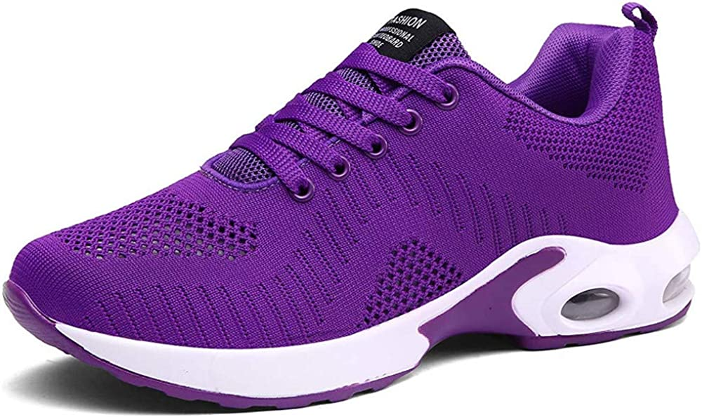 PAMRAY Women s Athletic Running Shoes Tennis Breathable Walking Sneakers Air Gym Sport Fitness