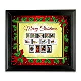 American Coin Treasures Kids - Framed Vintage Christmas Stamps