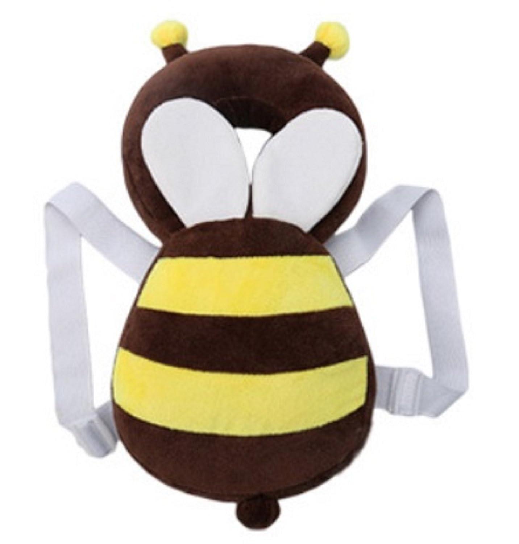 Honeybee Design Baby Infant Head Guard Adjustable Shoulder Safety Cushion Pad Protector Body Support (Honeybee) mero-mero store