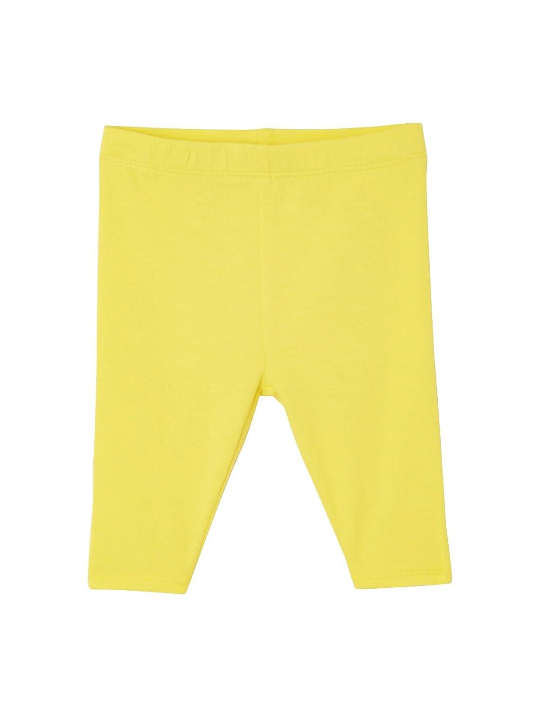 VERTBAUDET Lot de 2 leggings courts bébé fille Marine+jaune 9M - 71CM