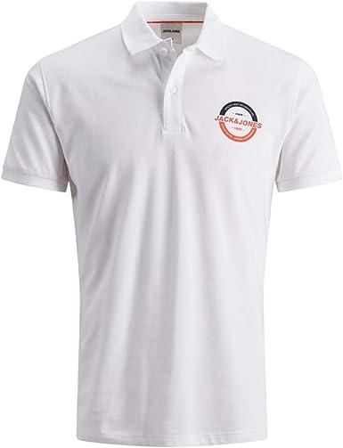 Jack & Jones Jcostrong SS Polo Camisa Hombre: Amazon.es: Ropa y accesorios