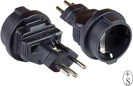 Good Connections Stromadapter Schweiz Netz Stecker An Elektronik
