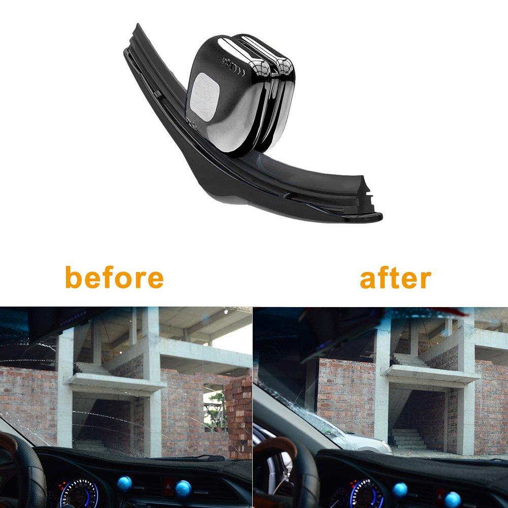 ACUMSTE Car Vehicle Wiper Blade Repair Tool Universal Car Windshield Wiper Refurbish Restorer Windshield Repair Tool (Black)