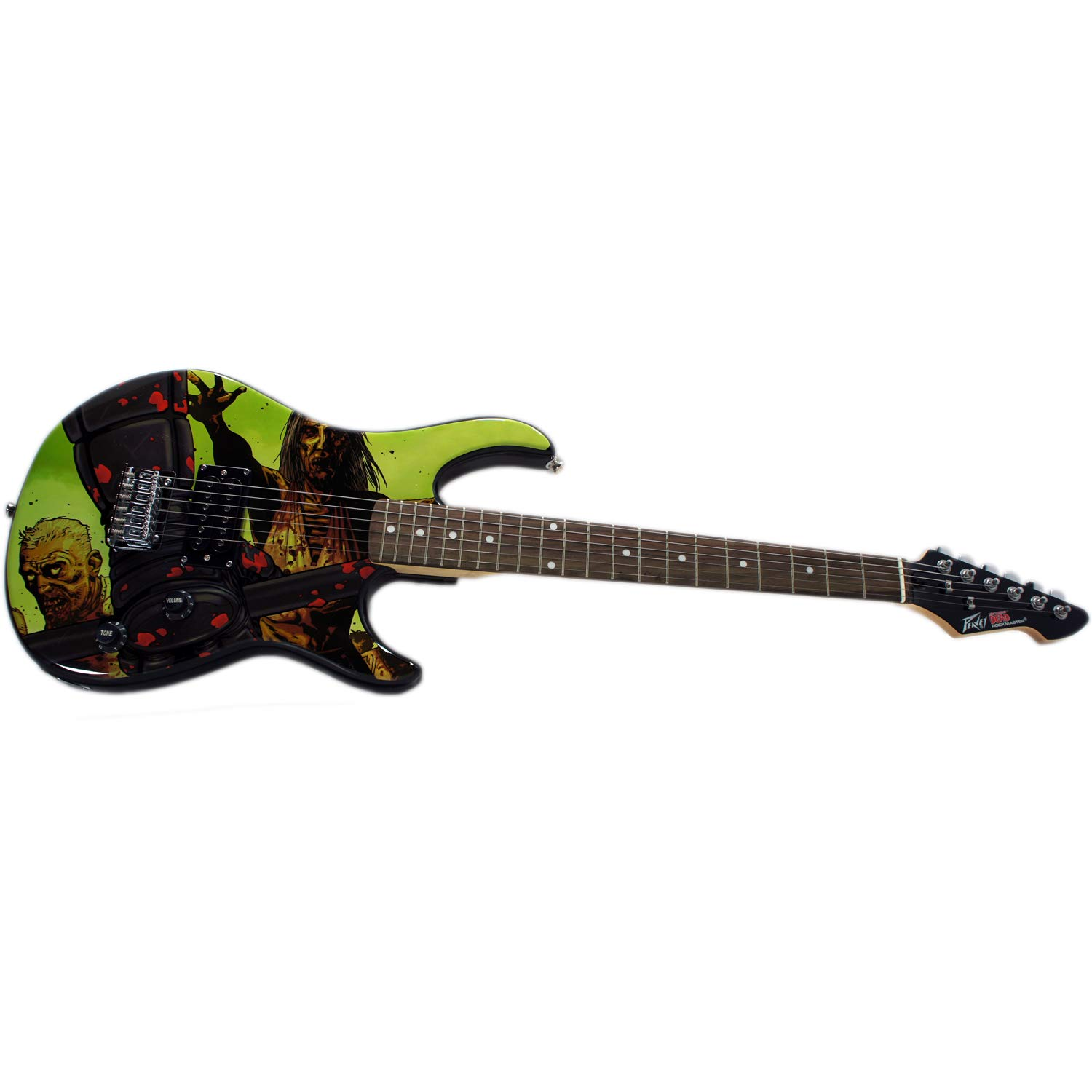 Peavey 03019690 26 Rockmaster Electric Guitar, The Walking Dead Riot by Peavey
