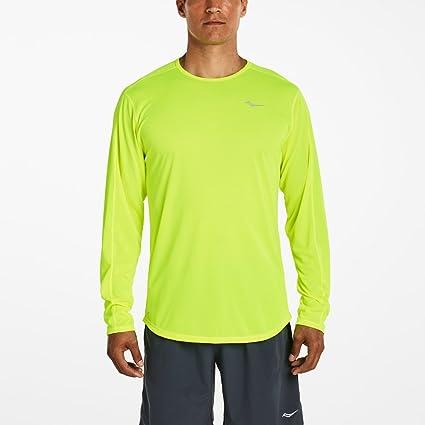 sklep wyglądają dobrze wyprzedaż buty specjalne wyprzedaże Buy Saucony Men's Hydralite Long Sleeve Shirt Online at Low ...