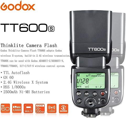 Godox Tt600 Ttl Flash Speedlite 2 4g Hss 1 Camera Photo