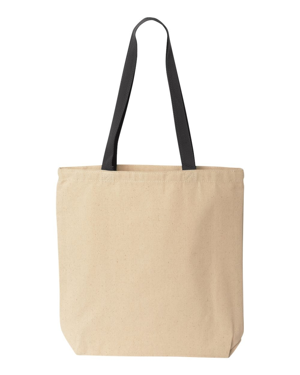 Liberty Bags Marianne Contrast Canvas Tote, One Size, Natural/Black by Liberty Bags (Image #2)