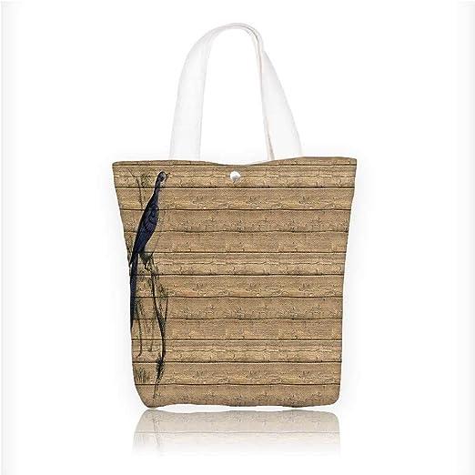 Bolsa de lona con ilustraciones hechas a mano con plantilla ...