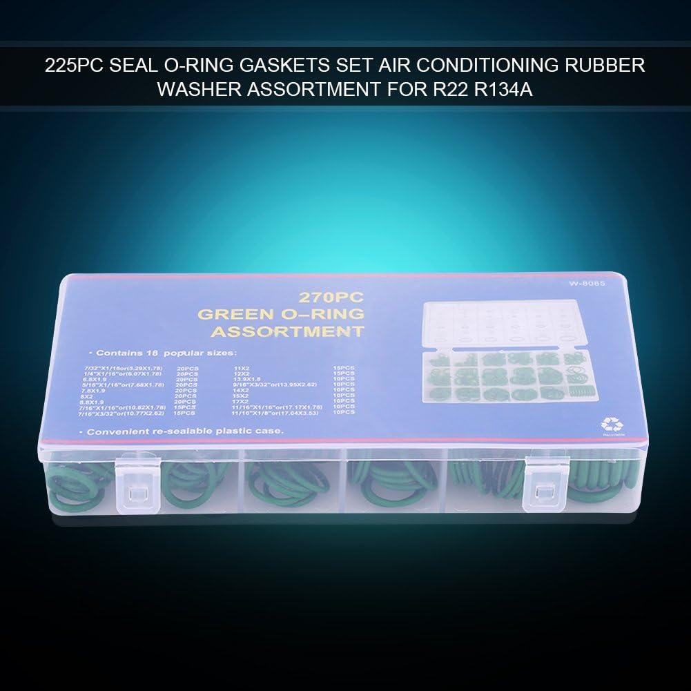 Joint torique 270 pi/èces Diff/érents joints de climatisation de la voiture Joint de climatisation