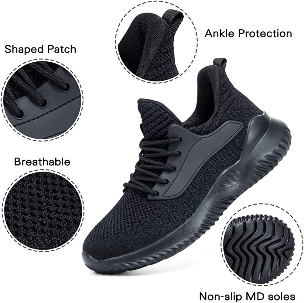 Akk Running Shoes for Men Sneakers Lightweight Breathable Comfortable Casual Shoes for Walking
