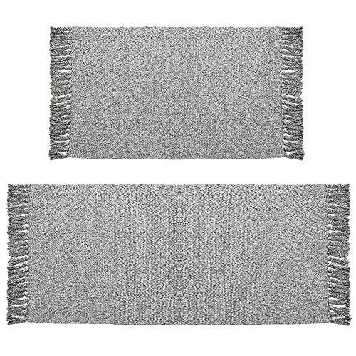 (Cotton Area Rug Set 2 Piece 2'x3'+2'x4'4