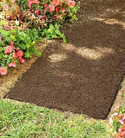 Plow & Hearth 51522 Permanent Mulch Pathway by Plow & Hearth