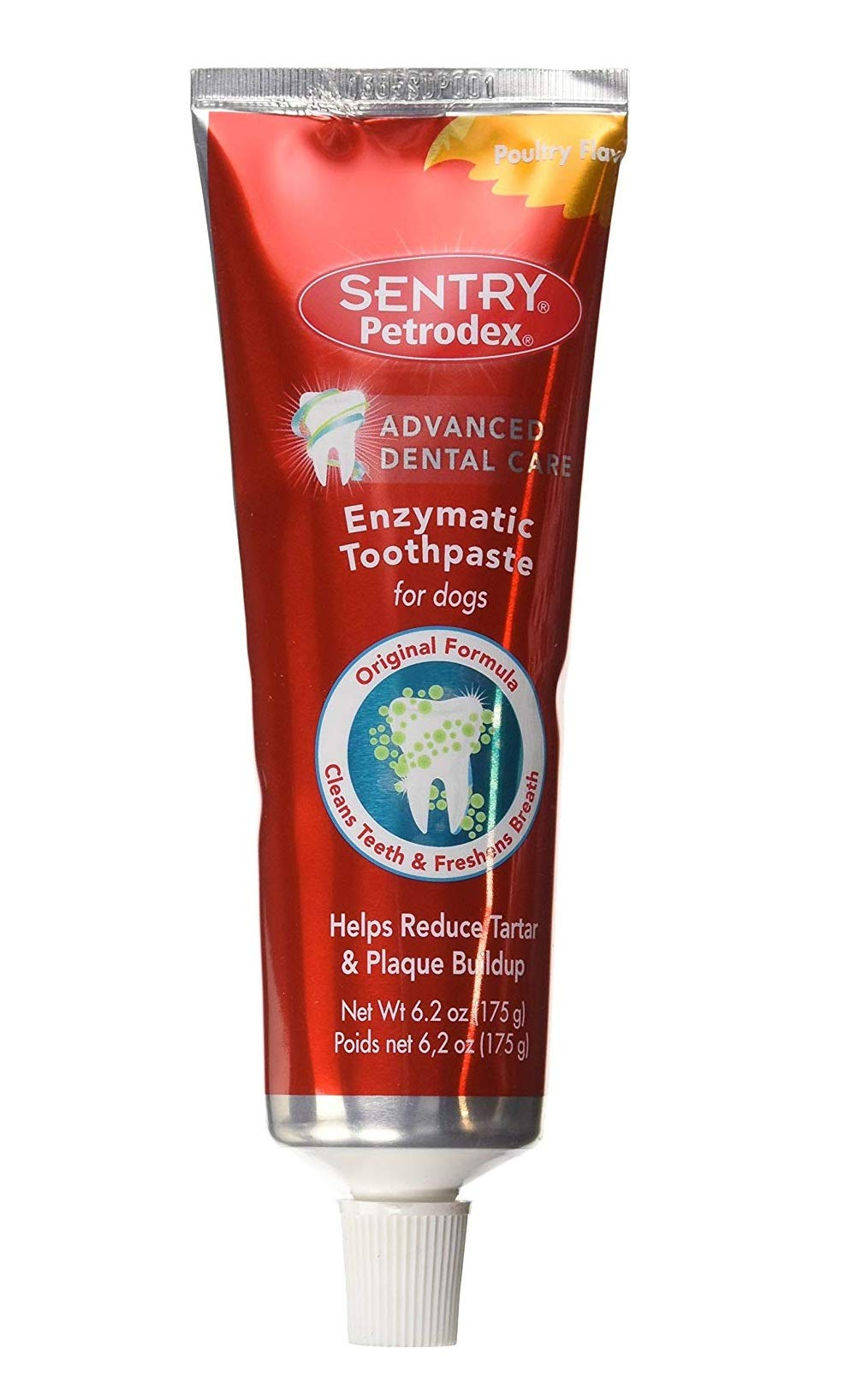 Petrodex Enzymatic Toothpaste DogPowlty Flaver Family-Value 3-Pack (6.2oz) fZJ by Petrodex