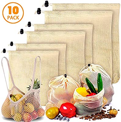 Bolsas de Malla Reutilizables, Bolsas de Comida para Fruta ...