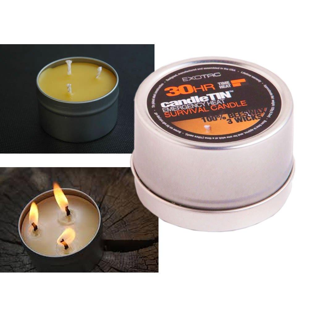 Exotac candleTIN Large - Hot Burn